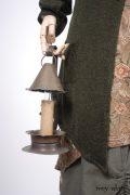 - Fairholme Jacket in Morning Meadow/Blackbird Softest Knit - Dennison Frock in Birdsong Embroidered Silk   - Edenshire Frock in Morning Meadow Yarn Dyed Cotton, Low Water