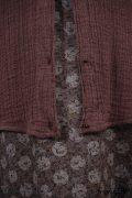 - Inglenook Vest in Hummingbird Double Layered Linen Scrim  - Inglenook Frock in Flock and Moon Cotton Voile, Low Water Length