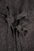 - Wilhemena Duster Coat in Moonlit Meadow Vine Weave  - Wilhemena Frock in Moonlit Meadow Puckered Striped Cotton  - Fairholme Sash in Peony Meadow Cotton Voile  - Windrush Frock in Moonlight Meadow Houndstooth, High Water Length
