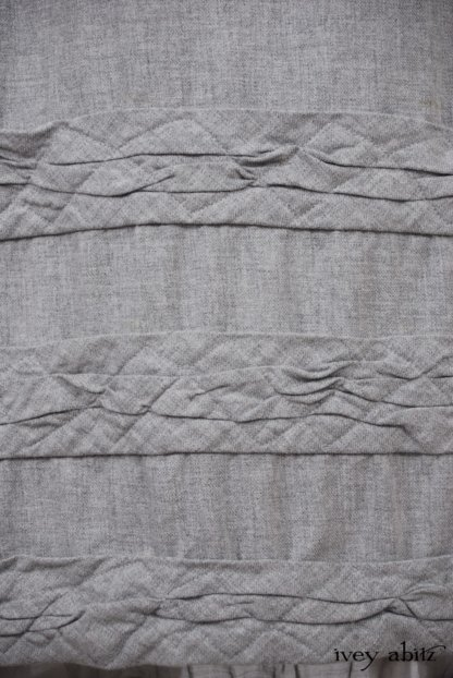 Tollie Frock in Sparrow Grey Softest Cotton Twill - Size Medium