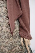 - Canterbury Cardigan in Blushed Cashmere Knit  - Blanchefleur Sash in Blushed Plaid Voile  - Wildefield Frock in Bird and Vine Silk Organza  - Edenshire Frock in Blushed Plaid Voile, High Water Length