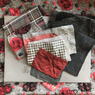 Fabric Swatches for the 2019 Capsule Collection from Ivey Abitz Bespoke.
