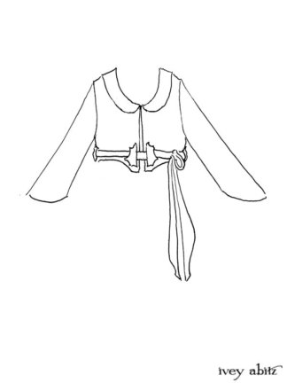 Ans Jacket Drawing by Ivey Abitz