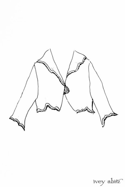 Au Sable Jacket drawing by Ivey Abitz