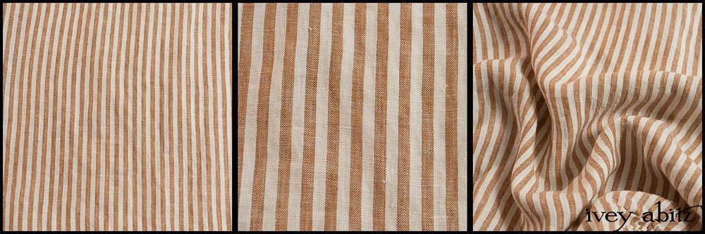 Camera Case Washed Stripe Linen