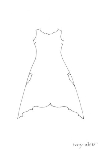 Crest Frock Drawing by Ivey Abitz