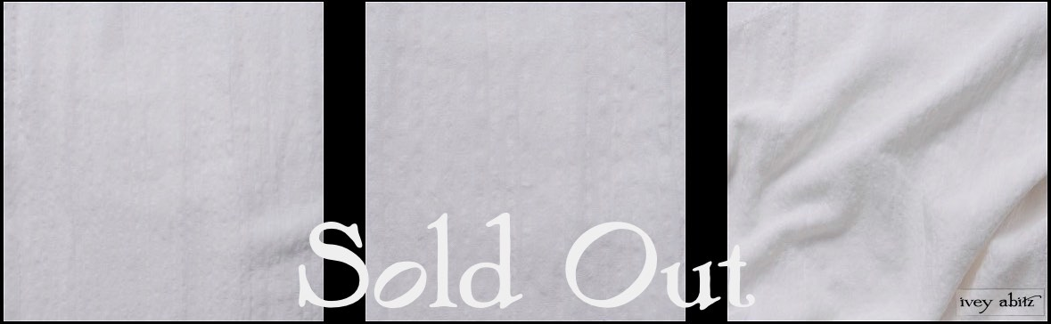 Dove Striped Voile - SOLD OUT