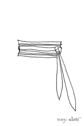 Eleanora Sash drawing by Ivey Abitz