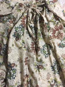 Elsie Skirt in Blushed Meadow Floral Voile, back view by Ivey Abitz