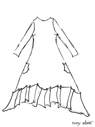Fairholme Dress Drawing by Ivey Abitz