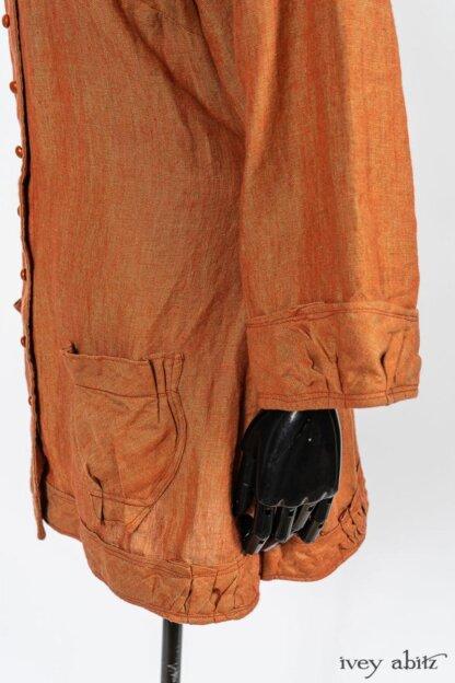 Gabled Shirt Jacket by Ivey Abitz