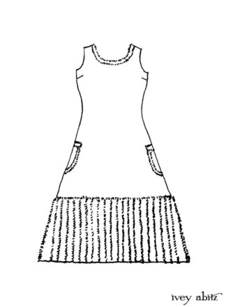 Glenclyffe Frock Drawing
