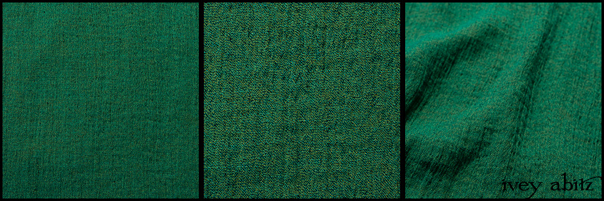 Gracious Green Washed Crinkled Gauze - Collection 63 - 2020