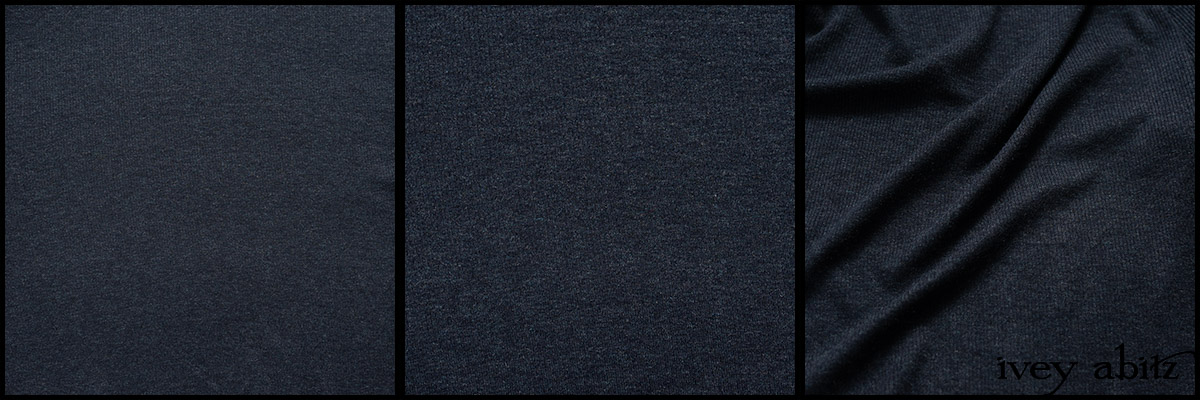 Hudson Blue Soft Ribbed Knit - Collection 63 - 2020