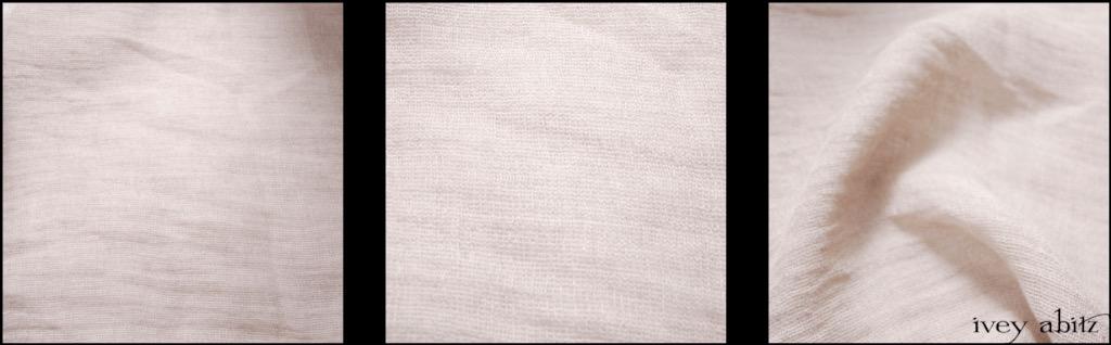 Ivory Gauze Linen