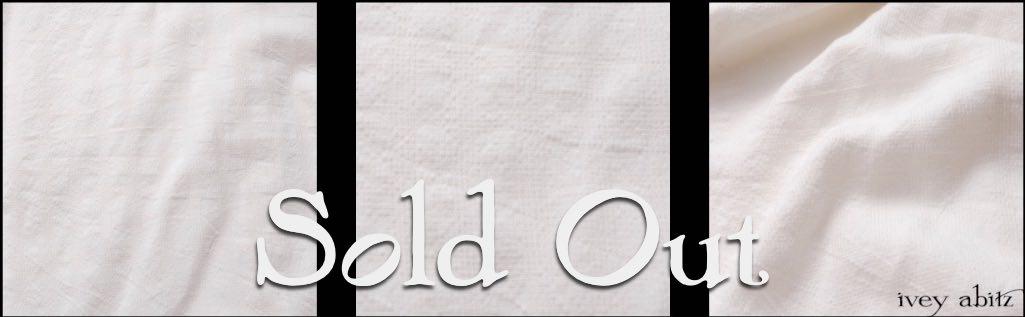 Ivory Plaid Silk