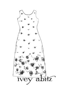 Limited Edition Jacquard Frock drawing