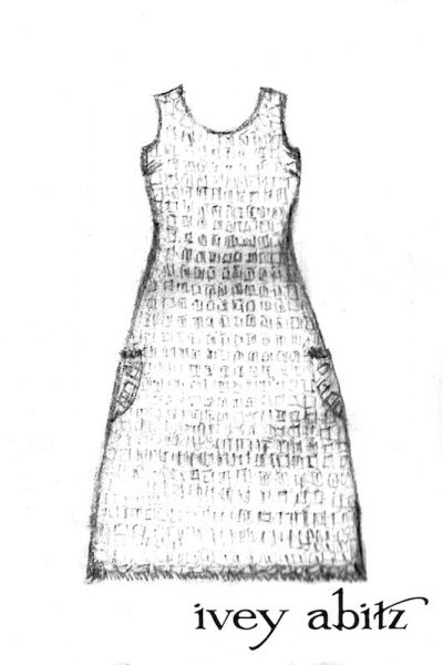 Limited Edition Covante Frock Drawing
