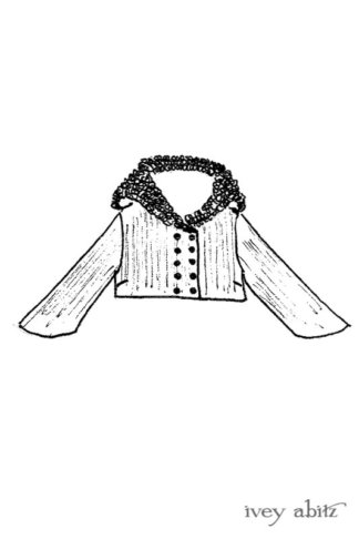 Limited Edition Eleanora Jacket drawing by Ivey Abitz