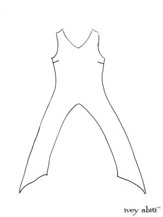 Lumiere Frock drawing by Ivey Abitz