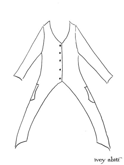 Lumiere Jacket drawing by Ivey Abitz