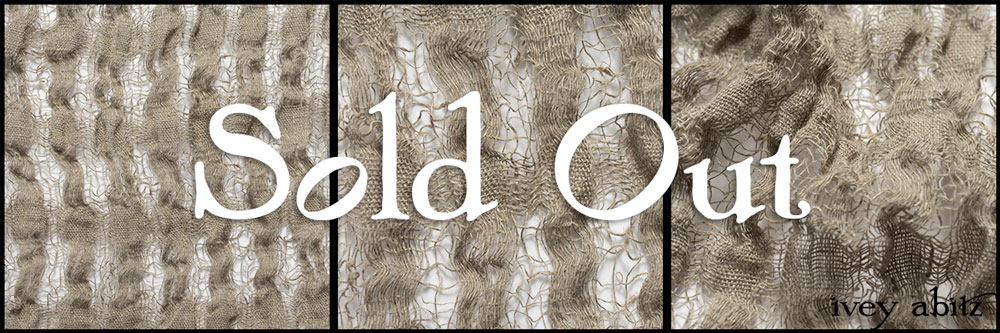 Natural Plaid Open Weave Linen - Collection 63 - 2020