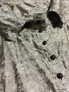 Ivey Abitz Phinneus Shirt in Onyx Floral Washed Silk