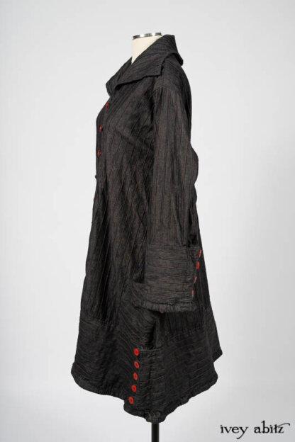 Pierrepont Duster Coat. Ivey Abitz bespoke clothing.