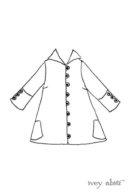 Pierrepont Shirt drawing by Ivey Abitz