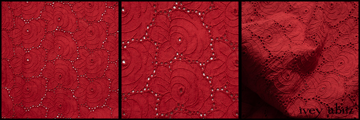 Rose Garden Floral Eyelet - Collection 63 - 2020