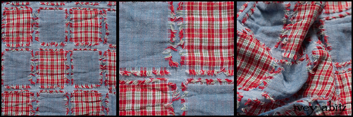 Rose Garden Patch Plaid Voile - Collection 63 - 2020