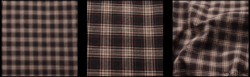 Rustic Plaid Stretch Cotton