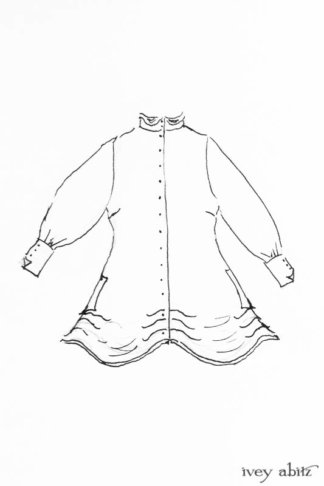 Scattergood Shirt Jacket drawing by Ivey Abitz