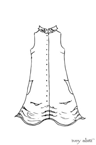 Scattergood Vest drawing
