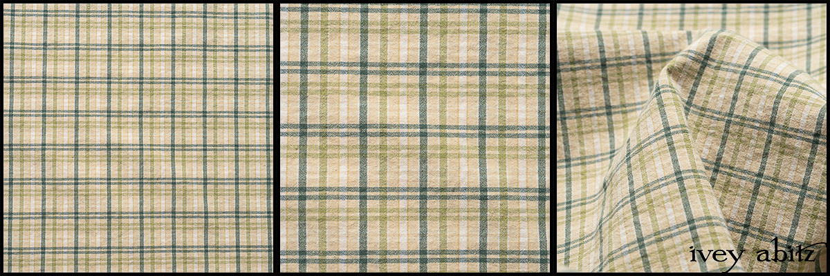 Seaside Peony Stretch Plaid - Collection 63 - 2020