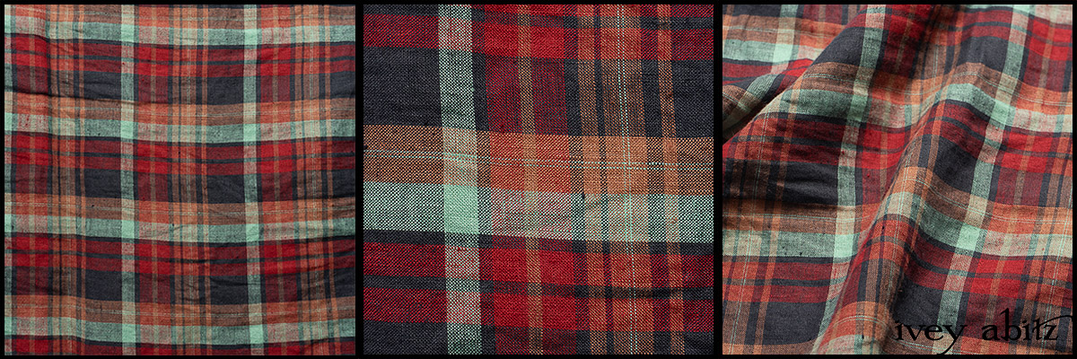 Seaside Rose Garden Washed Plaid - Collection 63 - 2020