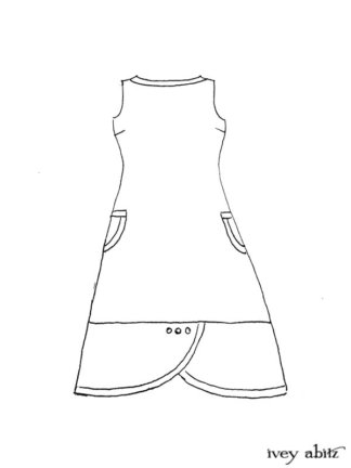 Sennen Frock Drawing by Ivey Abitz