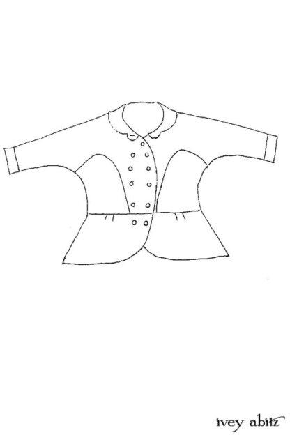 Sennen Jacket Drawing by Ivey Abitz