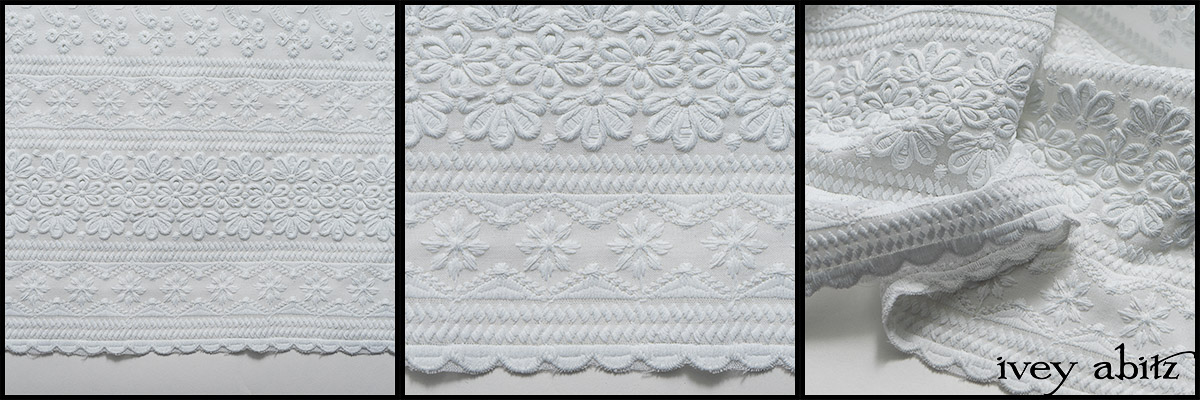 Shipsail Embroidered Voile - Collection 63 - 2020