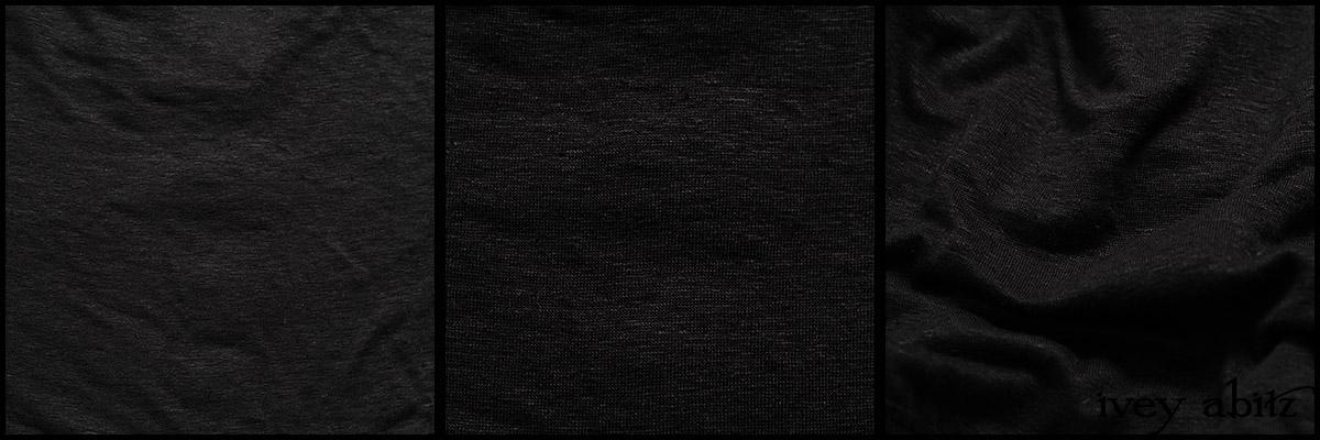 Signature Black Lightweight Linen Knit - Collection 63 - 2020