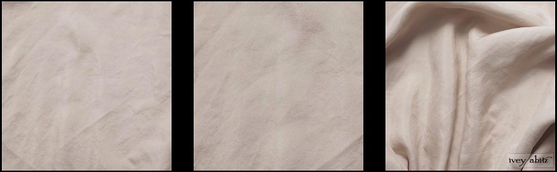 Signature Cream Washed Silk