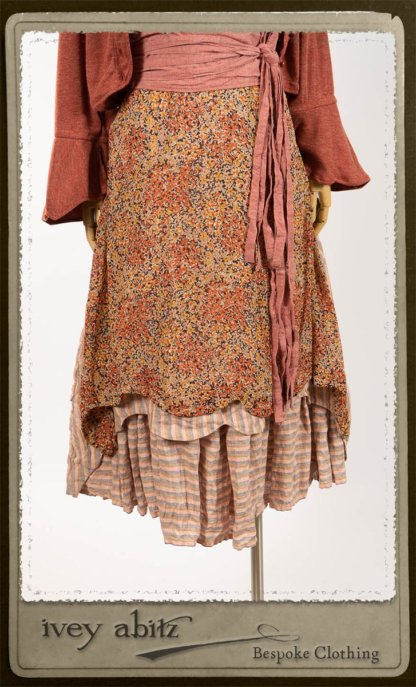 Crest Frock in New Sun Floral Silk Chiffon - Size M
