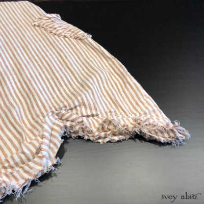 Au Sable Frock in Camera Case Washed Stripe Linen