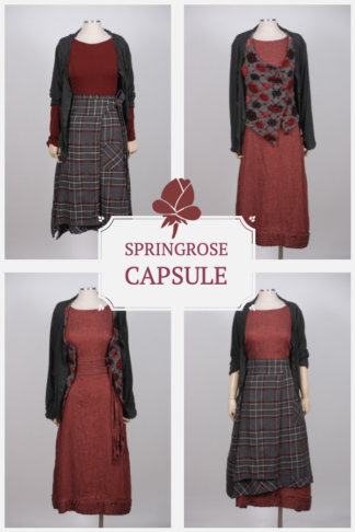Springrose Capsule gives you multiple looks with mix and match designs from the Capsule Collection by Ivey Abitz.