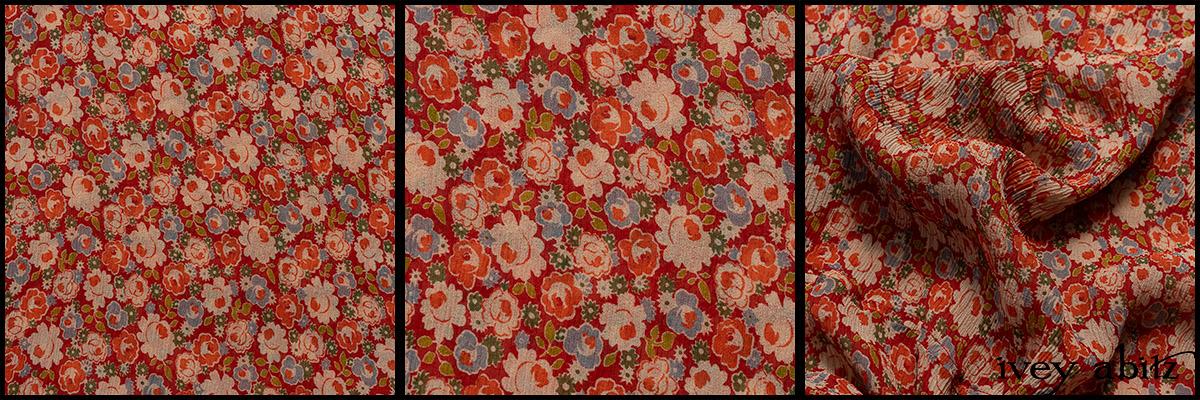 Sunnyside Floral Silk Chiffon - Collection 63 - 2020
