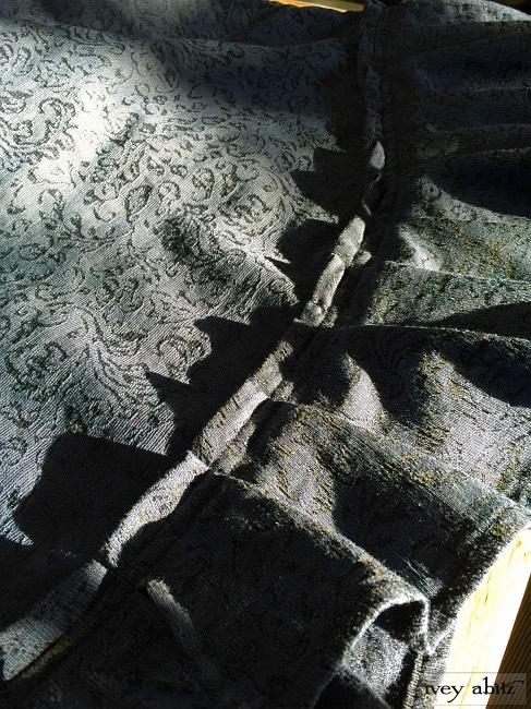 Ivey Abitz Tilbrook Frock in Sapphire Vine Weave