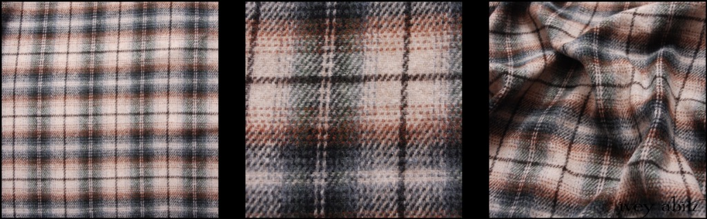 Tilled Field Plaid Wool