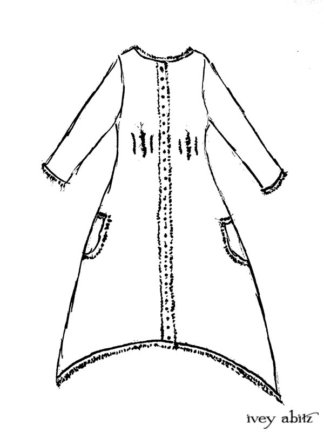 Trelawny Duster Coat Drawing by Ivey Abitz