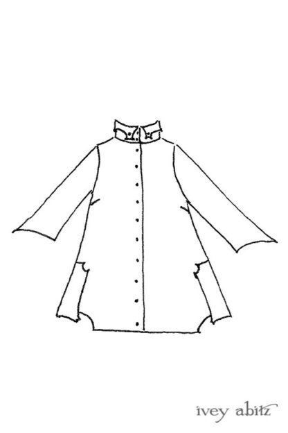 Vanetten Shirt drawing by Ivey Abitz