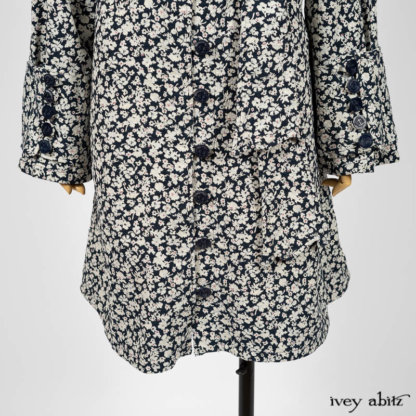 Viv Coat Dress. Ivey Abitz bespoke clothing.